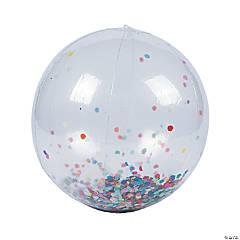 Inflatable Large Confetti Beach Balls