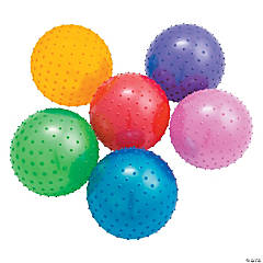 Inflatable Large Value Spike Balls - 10