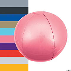 Inflatable Medium Solid Color Beach Balls