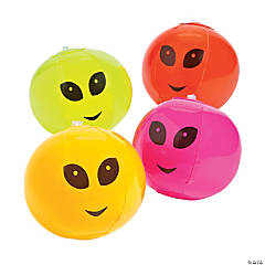 Inflatable Mini Alien Beach Balls