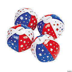 Inflatable Mini Patriotic Mini Beach Balls