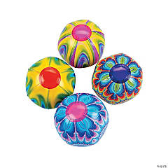Inflatable Mini Tie-Dyed Beach Balls