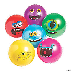 Inflatable Monster Spike Balls - 18