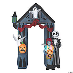 Inflatable Nightmare Before Christmas Archway Halloween Decoration