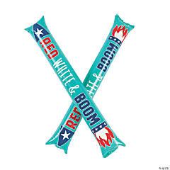 Inflatable Patriotic Boom Sticks