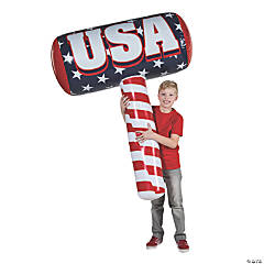 Inflatable Patriotic Hammer