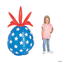Inflatable Patriotic Pineapple