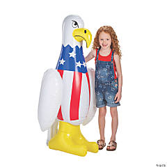 Inflatable Patriotic Standing Eagle