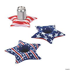 Inflatable Patriotic Star Coasters
