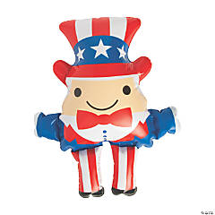 Inflatable Patriotic Uncle Sam