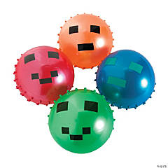 Inflatable Pixel Spike Balls