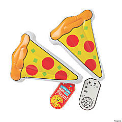 Inflatable Pizza Slices with Valentine's Day Card