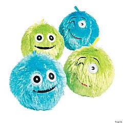 Inflatable Plush Emoji Balls