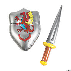 Inflatable Shield & Sword