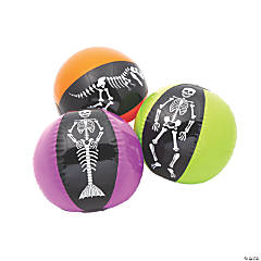 Inflatable Skeleton Character Beach Balls