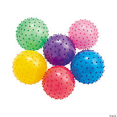 Inflatable Small Value Spike Balls - 5