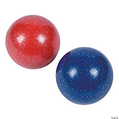 Inflatable Smooth Glitter Balls