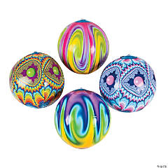 Inflatable Tie-Dyed Beach Balls