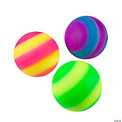 Inflatable Two-Tone Balls