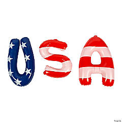 Inflatable USA Letters