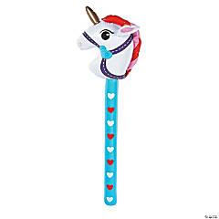 Inflatable Valentine Stick Unicorn