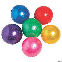 Inflatable Value Spike Balls - 18""