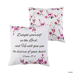 Inspirational Floral Pillow Set