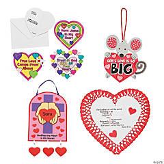 Inspirational Valentine Craft Kit Assortment