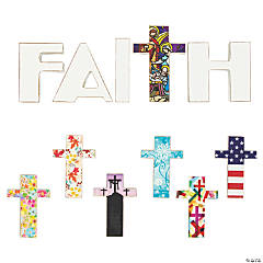 Interchangeable Faith Tabletop Decoration Set