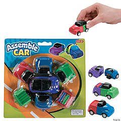 Interchangeable Pull-Back Cars