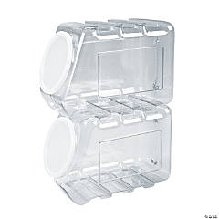 Interlocking Stacking Container with Lid