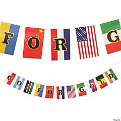 International Games Garland