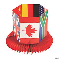 International Games Honeycomb Centerpiece