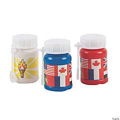 International Games Mini Bubble Bottles