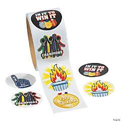 International Games Stickers