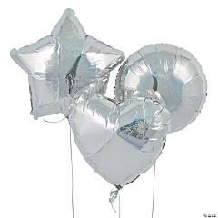 Iridescent Mylar Balloons