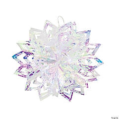 Iridescent Starburst Hanging Decorations