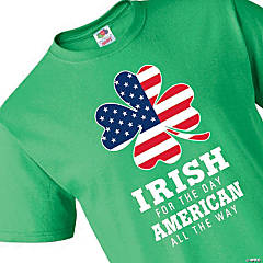 Irish for the Day Adult's T-Shirt - Extra Large