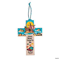 Island VBS Cross Sign Craft Kit