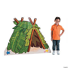 Island VBS Hut Cardboard Stand-Up