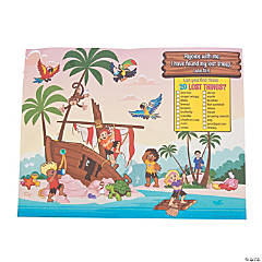 Island VBS Image Hunt Activity Sheets