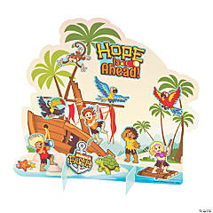 Island VBS Stand-Up Sticker Scenes