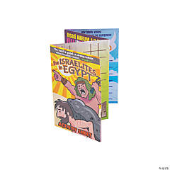 Israelites in Egypt Fold-Up Activity Sheets