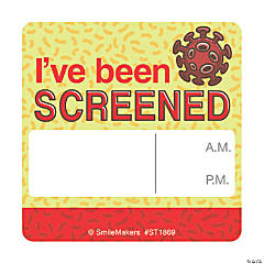 I've Been Screened Stickers