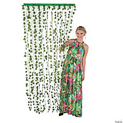Ivy Greenery Door Curtain