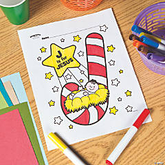 Free Printable Christmas Coloring Pages Orientaltrading Com