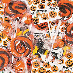 Jack-O'-Lantern Halloween Candy Assortment - 200 Pc.