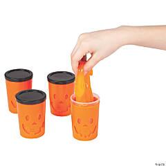 Jack-O'-Lantern Make Faces Slime