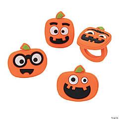 Jack-O'-Lantern Rings