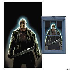 Jason Voorhees Window Poster